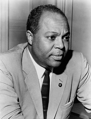 Discrimination Photograph - James Farmer 1920-1999, Civil Rights by Everett