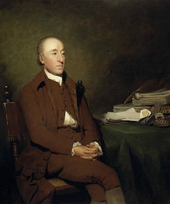 Geologist Painting - James Hutton, 1726 - 1797. Geologist by Henry Raeburn