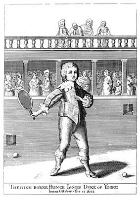 James II (1633-1701) Art Print by Granger