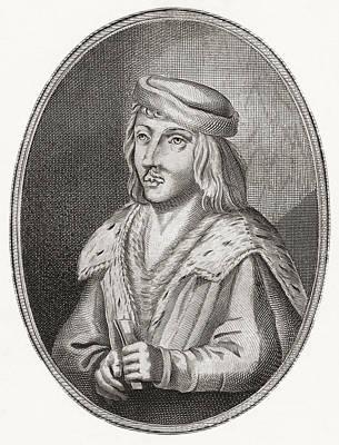 James II, King Of Scots, 1430 Art Print by Vintage Design Pics