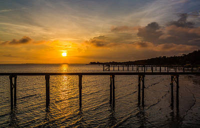 Photograph - James Island Sunrise by Donnie Whitaker