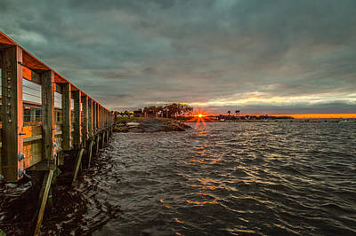 Photograph - James Island Sunset by Donnie Whitaker
