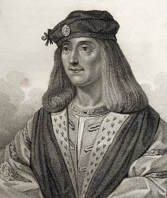 James Iv King Of Scotland 1473 - 1513 Art Print by Vintage Design Pics