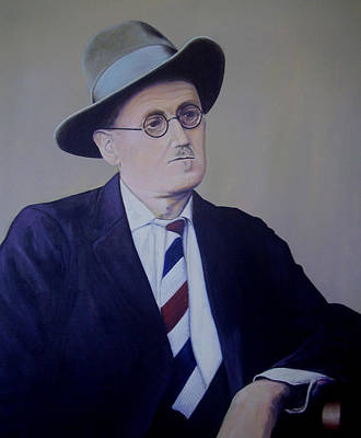James Joyce Art Print by Eamon Doyle