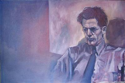 Painting - James Joyce by Kevin McKrell