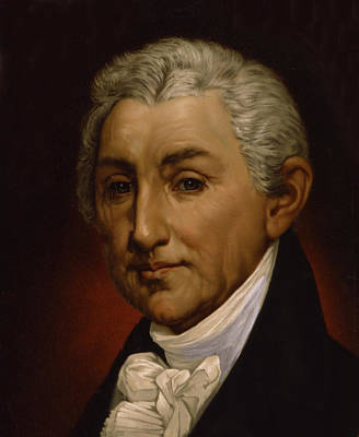 James Monroe - President Of The United States Of America Art Print