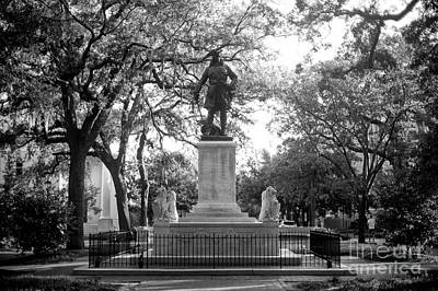 Photograph - James Oglethorpe Monument by John Rizzuto