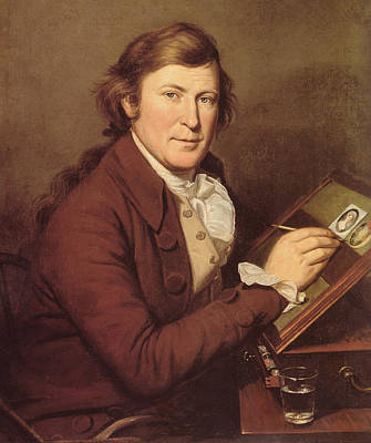 James Peale Painting A Miniature Art Print