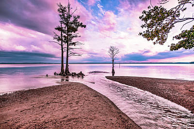 Photograph - James River 3 by Pete Federico