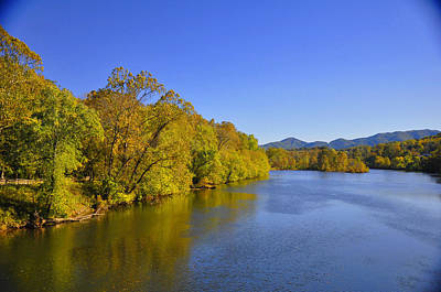 James River 3 Va Print by Vijay Sharon Govender