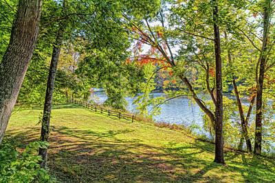 Photograph - James River by John M Bailey