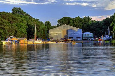 Photograph - James River Marina 2 by Jerry Gammon