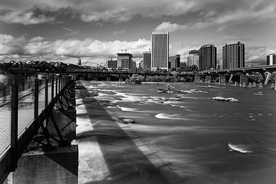 Photograph - James River Richmond  by Alan Raasch