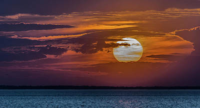 Photograph - James River Sunset by Jerry Gammon