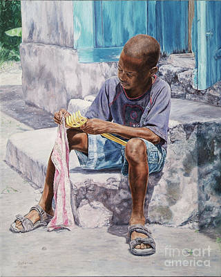 Painting - James by Roshanne Minnis-Eyma