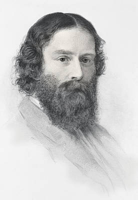 James Russell Lowell, 1819 Print by Vintage Design Pics
