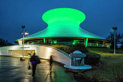 Photograph - James S Mcdonnell Planetarium In Forest Park by Garry McMichael