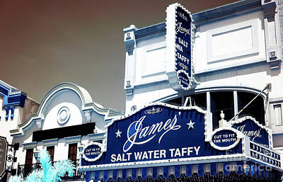 Photograph - Jame's Salt Water Taffy by John Rizzuto