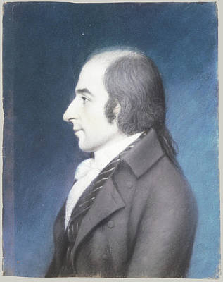 Gallatin Painting - James Sharples by Albert Gallatin