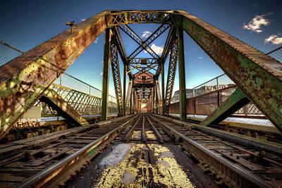 Photograph - James Street Swing Bridge by Jakub Sisak