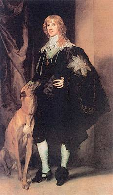 Digital Art - James Stuart Duke Of Lennox And Richmond  by Sir Antony van Dyck