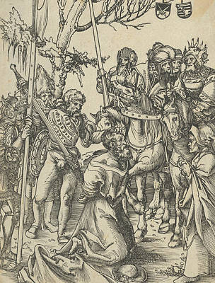 Relief - James The Greater From The Martyrdom Of The Twelve Apostles by Lucas Cranach the Elder