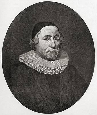 Primate Drawing - James Ussher Or Usher, 1581 To 1656 by Vintage Design Pics