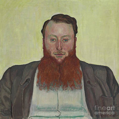 1907 Painting - James Vibert by Ferdinand Hodler