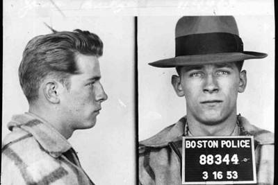 Photograph - James Whitey Bulger Mug Shot 1953 Horizontal by Tony Rubino
