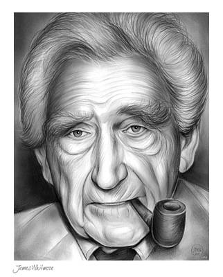 New York City Drawing - James Whitmore by Greg Joens