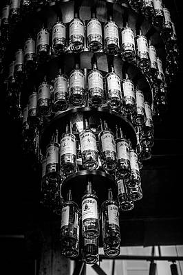 Photograph - Jameson Distillery - Bottle Chandelier by Georgia Fowler