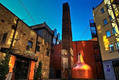 Jameson Distillery Art Print