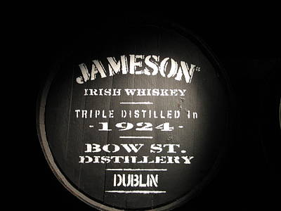 Stencil Photograph - Jameson by Kelly Mezzapelle