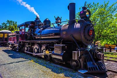 Jamestown Sierra No 3 Steam Train Art Print