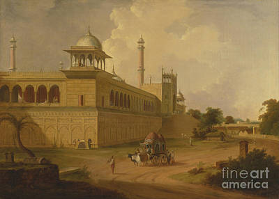 Painting - Jami Masjid Delhi by Celestial Images