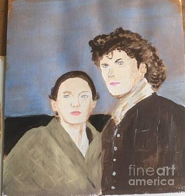 Painting - Jamie And Claire 2 by Audrey Pollitt