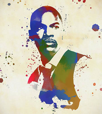 Painting - Jamie Foxx by Dan Sproul