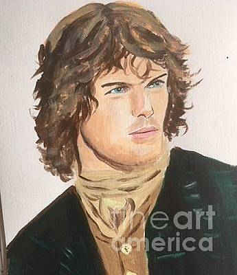 Painting - Jamie Fraser 2 by Audrey Pollitt