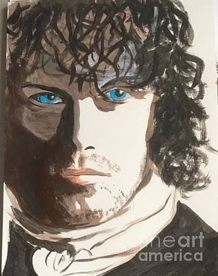 Painting - Jamie Fraser 4 by Audrey Pollitt