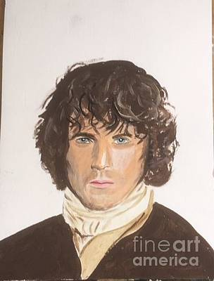 Painting - Jamie Fraser by Audrey Pollitt