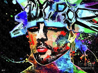 Mixed Media - Jamiroquai by Daniel Janda