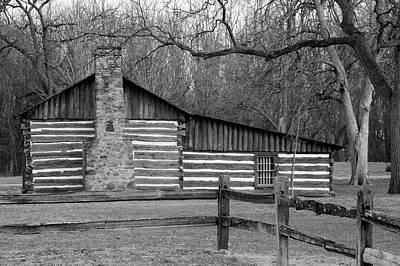 Photograph - Jamison Log Cabin by Kathy M Krause