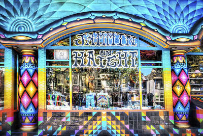 Jammin On Haight Store Front - Haight District - San Francisco Art Print