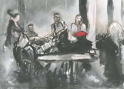 Painting - Jammin With Jazz by Brian Meyer