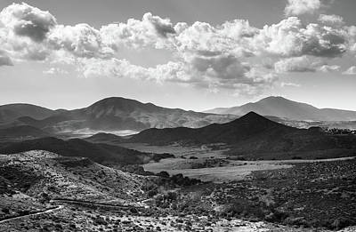 Photograph - Jamul Butte And Jamul Mountains by Alexander Kunz