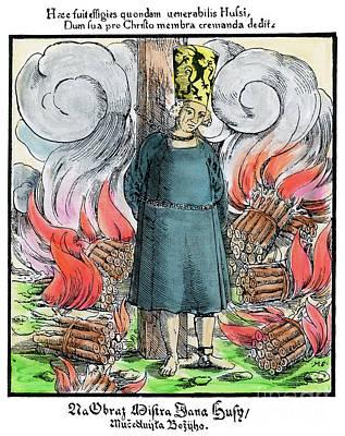 Drawing - Jan Hus by Granger