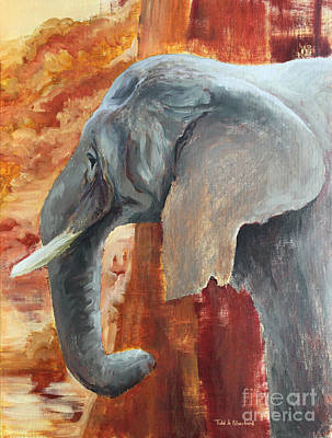 Painting - Jana by Todd Blanchard