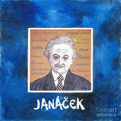 Janacek Art Print by Paul Helm