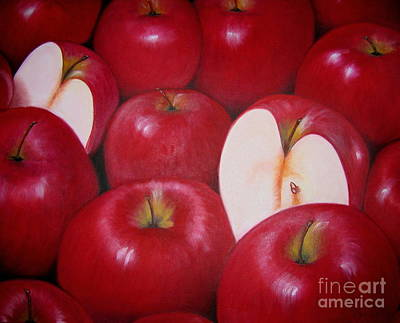 Painting - Janas Apples by Sonia Flores Ruiz