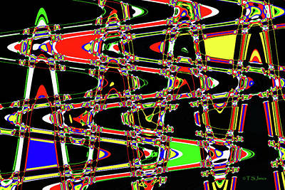 Digital Art - Jancart #9599 Wct by Tom Janca